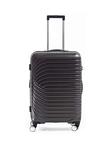 Metzeller Titanium Hard Suitcase 2.0 ABS / PC Grey Metalic Grey (Gris Metalique) (SOUTE) L - Large - 96/122L - 77x51x31cm - 4.5kg
