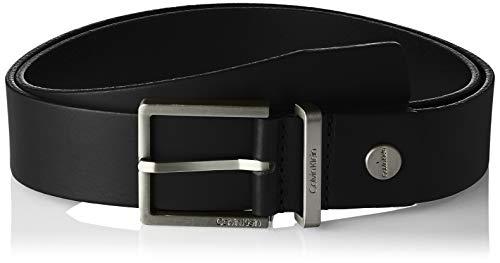 Calvin Klein Casual Adj. Belt 3.5cm Cintura, Nero (Black 001), 7 (Taglia Produttore: 95) Uomo