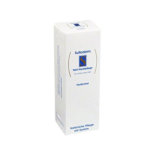 Sulfoderm S teint Nachtpflege Creme, 40 ml