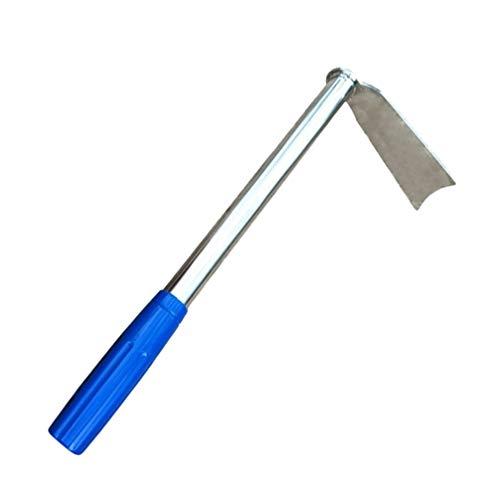 Yardwe Zappa da giardino in acciaio inox per erba, zappa per scavare e giardinaggio