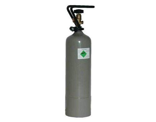 CO2 Stahlflasche , Grösse:2 kg