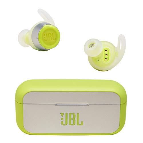 JBL REFLECT FLOW 完全ワイヤレスイヤホン 連続約10時間再生/IPX7防水/Bluetooth対応/トークスルー機能搭載 グリーン JBLREFFLOWGRN【国内正規品/メーカー1年保証付き】