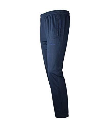 Soltice Jogginghose aus Mikrofaser, Bequeme Freizeithose, leichte Sporthose, schnelltrocknend (M bis 3XL) (XL, [C] Navy-Blank)