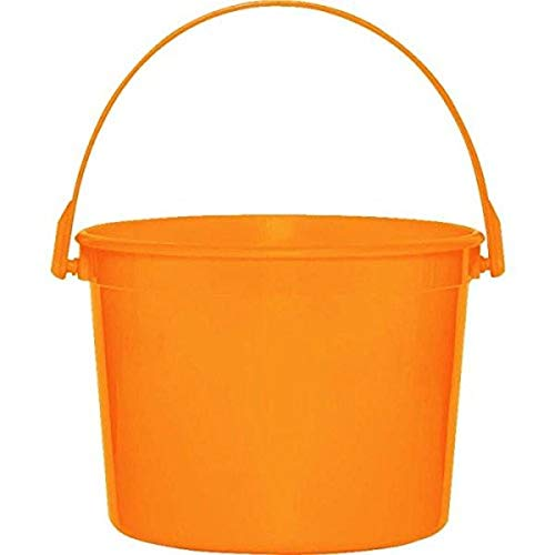 Plastic Bucket | Orange Peel | Party Accessory