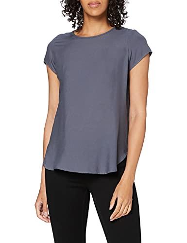 Vero Moda Boca SS Blouse Noos Camiseta, Azul Ombre Blue, L para Mujer