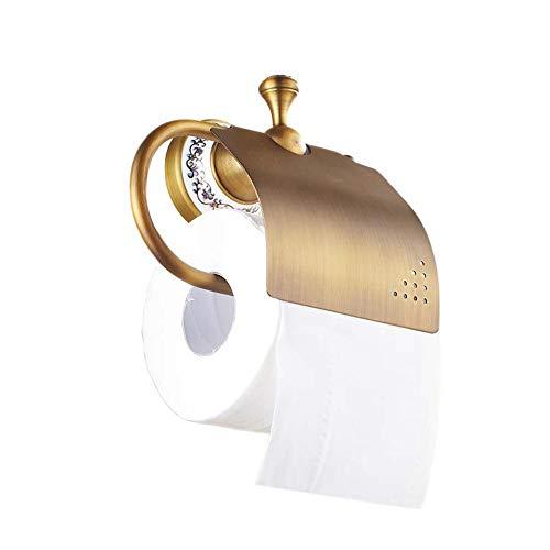 portarollos papel higienico,Rollo antiguo del oro del tenedo