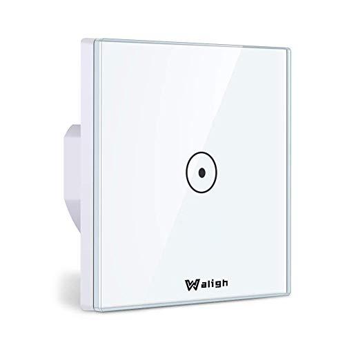 Interruptor wifi de luz Waligh compatible con Alexa y Google