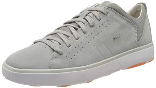 Geox U Nebula Y A, Sneakers Basses Homme, Gris (Lt Grey C1010), 43 EU