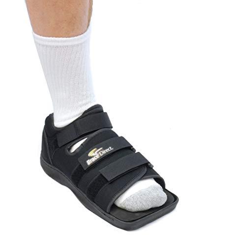 Brace Direct Post Op Shoe - Adjustable Medical Walking Shoe - Post Surgery or Operation Support - Men or Women