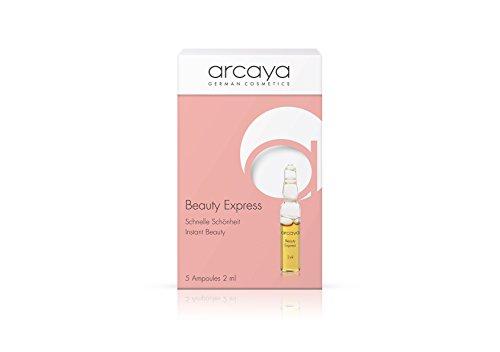Feuchtigkeits Gesichts-Ampullen | arcaya Beauty Express Lifting Ampulle | Gesichtsserum für ein frisches Hautaussehen | arcaya Ampullen aus Deutschland