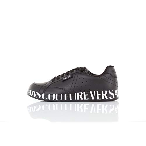 Versace Jeans Sneakers, Sneaker Uomo, (Nero 899.0), 39 EU