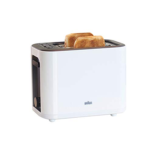 QINGZHUO Tostadora de 2 Ranuras Anchas,7 configuraciones de Dorado,cancelar/recalentar/descongelar,una Variedad de Funciones,1000 W,Conveniente máquina de Desayuno.