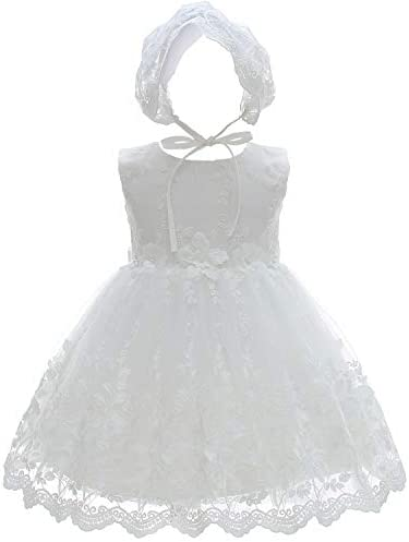 Silver Mermaid Baby Girls Christening Baptism Dress 2 Piece Floral Lace Baptism Gown Christening product image