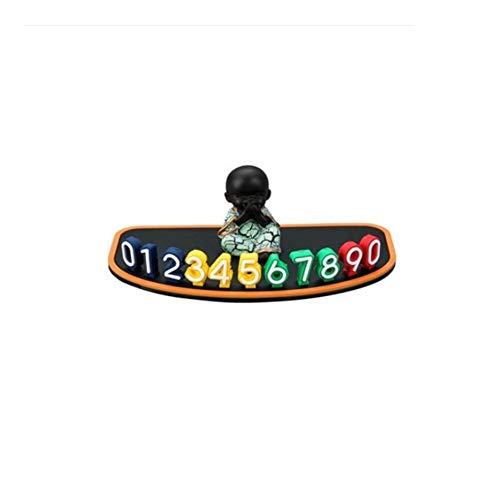 ZBM-ZBM auto versieringen auto styling elegant Temporary Parken kaarten-telefoon nummerplaat magnetische telefoonnummer doos zonwering nacht luxe park stop-stijl n