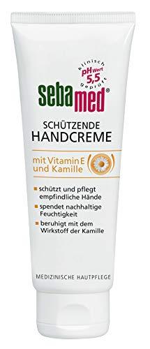 Sebamed Schützende Handcreme mit Vitamin E, 6er Pack(6 x 75 ml)