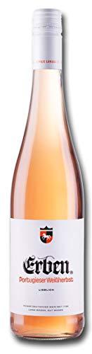 Erben Portugieser Weißherbst Lieblich – Roséwein aus Deutschland – Qualitätswein – (1 x 0.75 l)