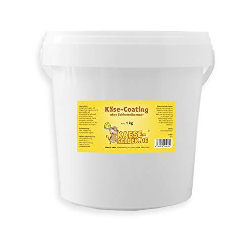 Si forma una corteccia di plastica non commestibile, come si sa ad esempio con un Gouda. Ideale per sigillare il formaggio dopo la fabbricazione, non è necessaria alcuna manutenzione. Speciale rivestimento per formaggio in un pratico secchio richiudi...
