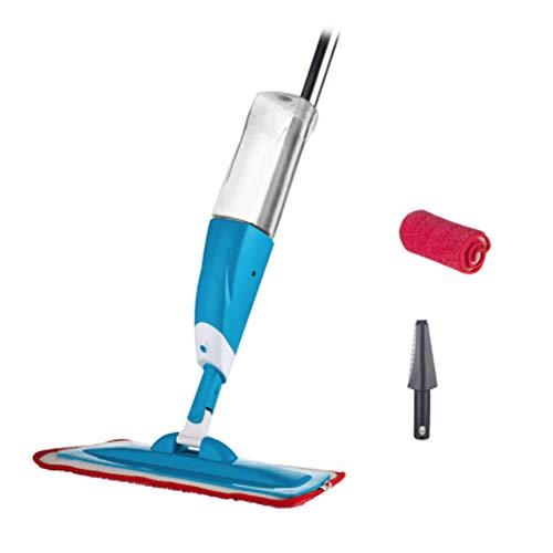 DIANZI Mopp Spray vloerwisser met 3 stuks reinigingsdoekje hoofd combinatie houten vloer keramische tegels automatische dweil Dry Home reinigingswerktuigen, E