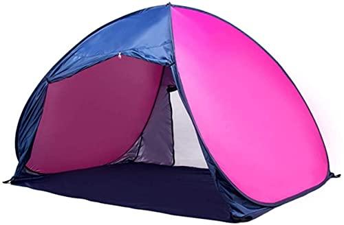 Ankon Tiendas de campaña para Camping Tienda UV Protección Playa Amplia Pop-up Parasol Camping portátil Pesca de Pesca Picnic Picnic Outdoor Tarjetas Cabaña Cabaña Llevar Bolsa para Pesca Mochilero