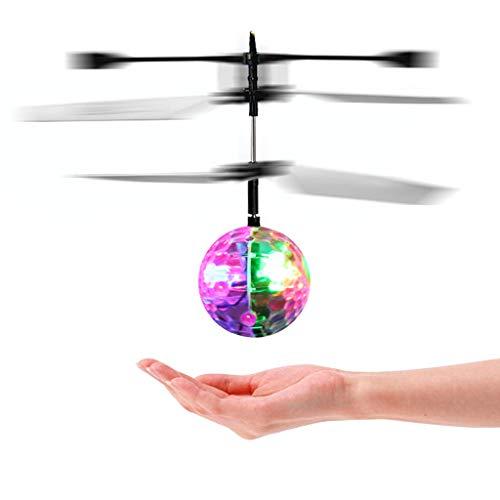 Infrarot - Induktion Bunte LED - Flash - Discokugel Fliegende Rc Helikopter Spielzeug Für Kinder