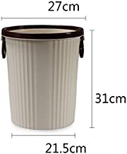 Hogar Cute Pedal Trash Cocina Cuarto de ba/ño Children s Trash Cans Champi/ñ/ón Health Bucket con Handle Barrels