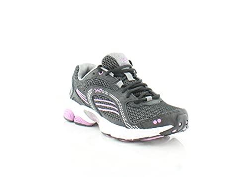 Ryka womens Ultimate Running Shoe, Black, 6 US