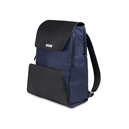 Moleskine City Travel Collection Notebook rugzak (Apparaat rugzak voor tablet, laptop, iPad en computer tot 15 inch, afmetingen 34 x 20 x 47 cm) saffierblauw