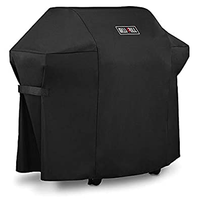 MissGrill Grill Cover 7106 Cover for Weber Spirit 200 and 300 Series Gas Grill (Compared to 7106)?52 x 43-Inch Heavy Duty Waterproof & Weather Resistant Outdoor Barbeque Grill Covers