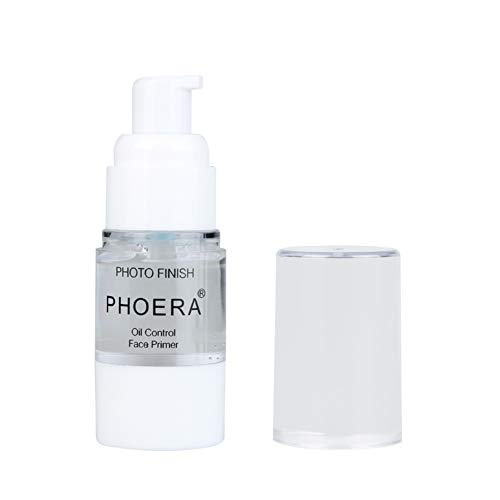 Phoera Face Primer, Isolated Moisturizing Makeup Base Cosmetics Primer, Mini Perfect All Matte Pore Invisible Make Up Facial Prime, Freshing and Natural, Moisturizing Smooth (18ml)