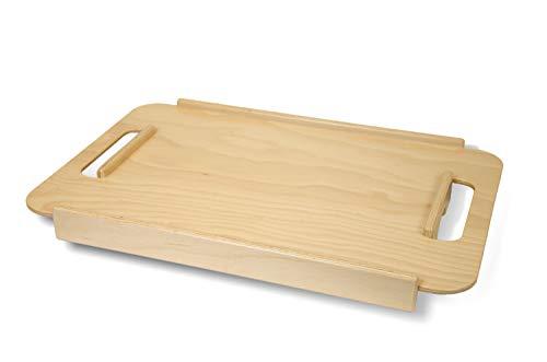 Rollator Tablett für Gehwagen PAGE, Zubehör, Bucheholz, verrutschsicher, 20kg