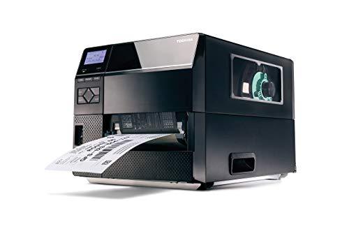 Toshiba TEC B-ex6t1industriel 15,2cm Wide Web DT/TT Barcode Label Printer/pour près de bord ruban 203dpi