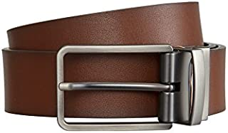 Tarocash Men's Ceebee Reversible Prong Belt Tan/Black 30 Sizes 32-46 for Going Out Smart Occasionwear Belts