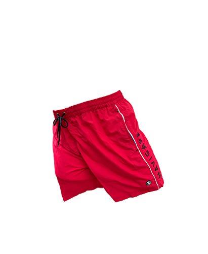 Navigare Boxer Mare Costume Uomo Pantaloncini da Bagno Anche in Taglie conformate (Red Race 098370, 6XL)