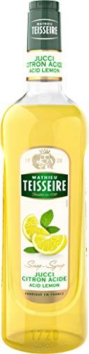 Teisseire Sirop de citron acide spécial barman 100cl