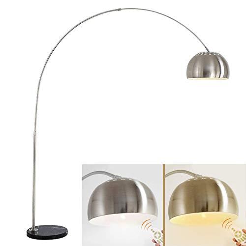 LANMOU Lámpara de Pie Arco Regulable, Lámpara de Piso Ajustable Altura Extensible...