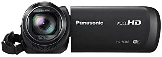Panasonic HC-V385GW-K Consumer Camcorder (Black)