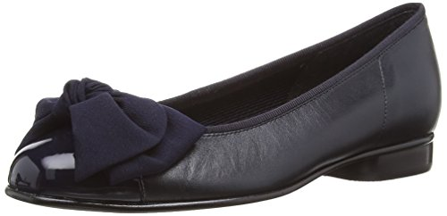Gabor 05.106.36 Damen Geschlossene Ballerinas, Blau (blue Leather/patent), 39 EU / 6 UK EU