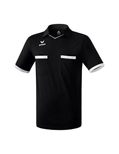 erima Herren Trikot Saragossa Schiedsrichtertrikot, schwarz/weiß, XXL, 3130711