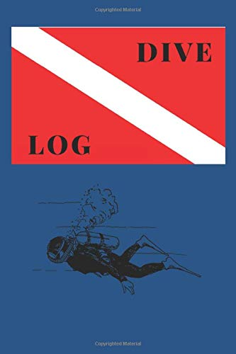 Dive Log: A handy logbook to keep record of all your diving adventures