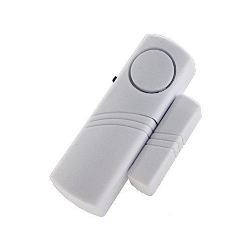 LULE Alarma antirrobo de 2 piezas | Detector inteligente de seguridad ventana y puerta alarma Bell | Sensor inalámbrico puerta ventana alarma antirrobo -120DB