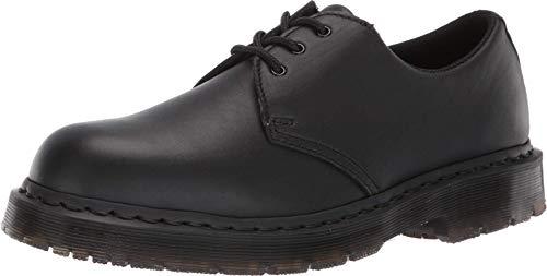 Dr. Martens Men's 1461 SR Food Service Shoe, Black Industrial Full Grain, 11