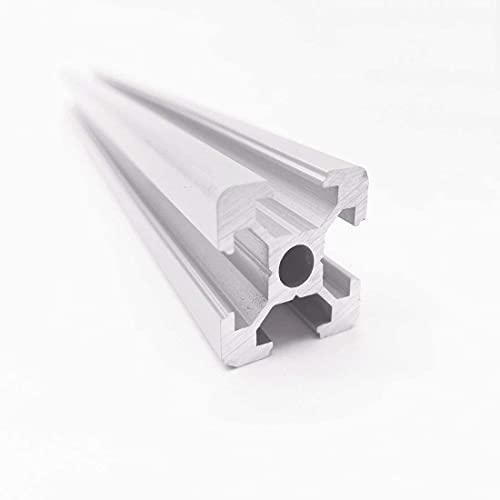 4pc 2020 CNC 3D Printer Parts European Standard Anodized Linear Rail Aluminum Profile Extrusion for DIY 3D Printer (200mm)