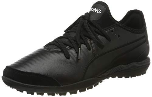 PUMA King Pro TT, Chaussures de Football Mixte Adulte, Black White, 40 EU