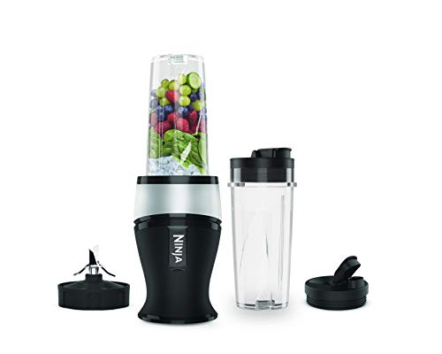 Ninja Nutri Slim Blender and Smoothie Maker [QB3001UKS], 700 W, Silver