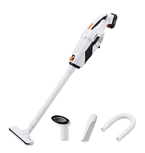 Iris Ohyama JCL108 Vacuum Cleaner, Cordless, 10.8 V, Paper Pack Type, Up to 25 Minutes of Operation, Battery and Charger Included