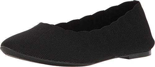 Skechers Cleo Bewitched - Engineered Knit Skimmer Black 8