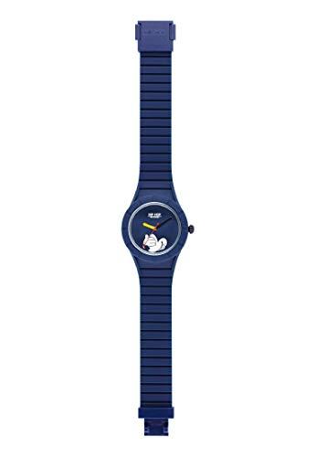 Hip Hop Watches - Orologio Mickey Mouse da Uomo Edizione Speciale Anniversario Topolino - Collezione Mickey Man - Cinturino in Silicone - Cassa 42mm - Impermeabile - Blu