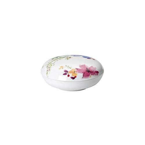 Villeroy & Boch Mariefleur Gifts Schmuckdose, Premium Porzellan, Basic, 11cm