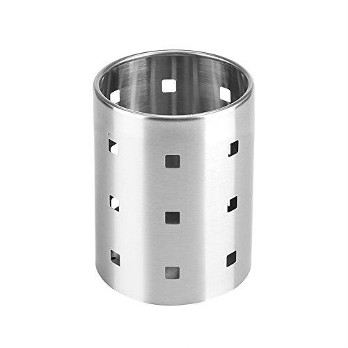 Supporto per le Bacchette Supporto per Posate da Cucina in Acciaio Inox Bacchette Set di Stoviglie Rack di Stoviglie per Utensili da Cucina a Prova di Ruggine(M)