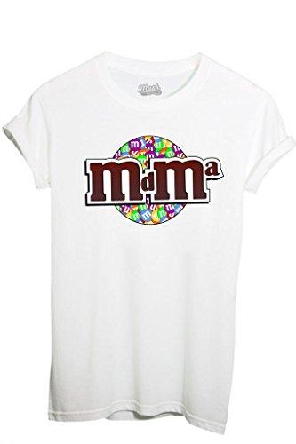 MUSH T-Shirt MDMA by Dress Your Style - Herren-M Weiß